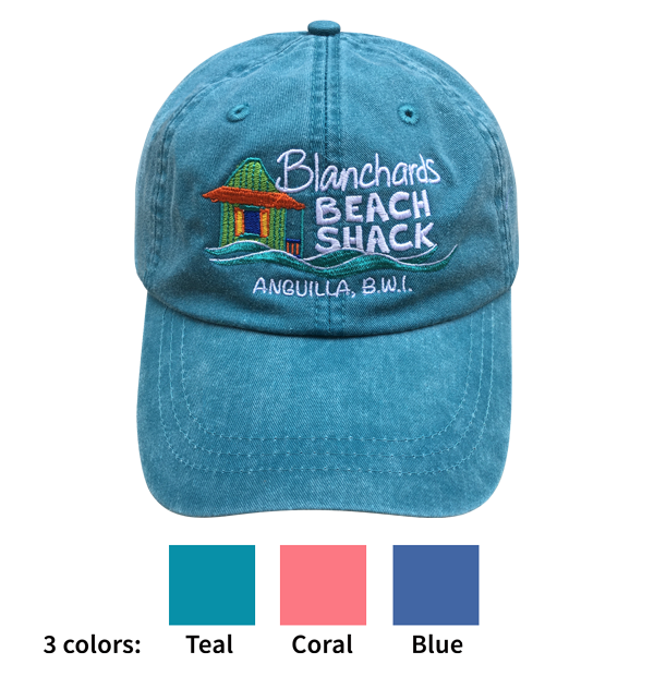 Blanchards Beach Shack baseball hat
