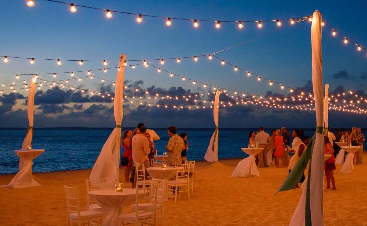 private event meads bay beach anguilla
